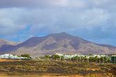 Lanzarote beach on Spanish Canary Island — Stock Photo