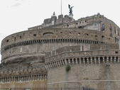 Castel Sant Angelo Rome — Stock Photo