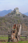 Sacra di San Michele abbey — Stock Photo