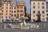 Fontana di Piazza Colonna in Rome — Stock Photo