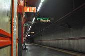 Stanice metra spagna v římě — Stock fotografie