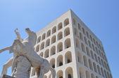 Palazzo della Civilta Italiana — Stock Photo