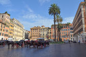 Piazza di Spagna Rome — Stock Photo