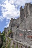 Mont st abadía michel francia — Foto de Stock