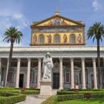 ������, ������: San Paolo Fuori Le Mura church in Rome