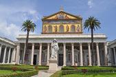 San Paolo Fuori Le Mura church in Rome — Stock fotografie