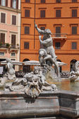 Fontana of the Four Rivers in Rome — Stock Photo