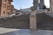 Piazza di Spagna Rome — Stock Photo