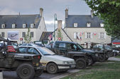 D-Day celebrations Saint Mere Eglise France — Stock Photo