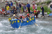 Carton Rapid Race — Stock Photo