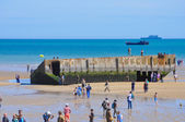 D-Day celebrations in Arromanches — Stock Photo