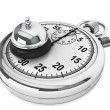 Stock Photo: StopWatch with service bell