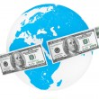 Global investment concept — Stock Photo