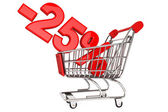 Twenty five percent discount — Stock Photo
