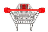 Shopping Concept. Shopping Cart — Stock Photo