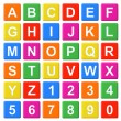 Alphabet Baby Blocks — Stock Photo