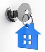 Home key — Stock Photo