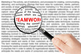 Teamwork sign — Stockfoto