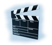 Film productie klepel board — Stockfoto