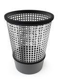 Empty trash, garbage bin — Stock Photo