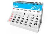 Calendar May 2013 — Stock Photo