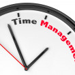 time management koncept — Stockfoto