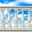 Stock Photo: Balustrade Pillars