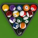 ������, ������: Glossy billiard balls set