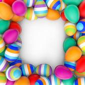 Easter Eggs frame — Stock Photo