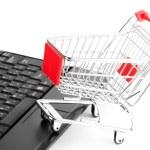 Online shopping — Stock Photo #8888081