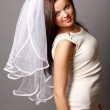 Portrait of a bride — Stock Photo #6756521