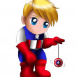 Captain AmericChibi — Stock Photo #12629874