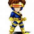 Stock Photo: Cyclops Chibi