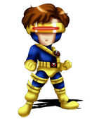 Cyclops Chibi — Stock Photo