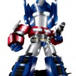 Royalty-Free Stock Photo: Optimus Prime Chibi