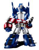 Optimus Prime Chibi — Stock Photo