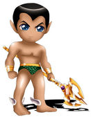 Namor Chibi — Stock Photo