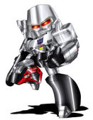 Megatron Chibi — Stock Photo