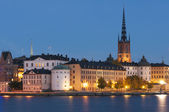 Riddarholmen, small island in central Stockholm — Stock Photo