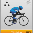 Royalty-Free Stock Vector Image: Triathlon