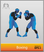 Boxing — Stock Vector