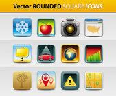 Vector iconen — Stockvector