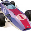 Classic F1 Racing Car — Stock Photo