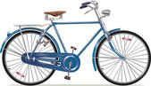 Old Style Retro Bicycle — Stock Photo