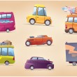 Cartoon Cars Set — Stock Vector #31722657