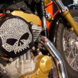 Harley customized — Stock Photo
