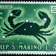 San marino republic stamp — Stock Photo