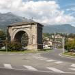 Aosta Italy — Stock Photo