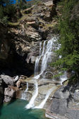 Lillaz Waterfalls - Aosta Valley - Italy — Stock Photo