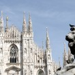 Milan - Dome - Stock Photo
